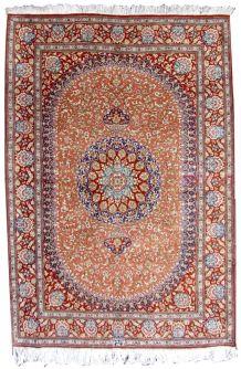Tapis vintage Persan Tabriz fait main, 1Q0316