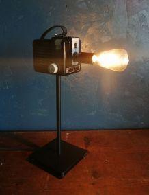 "Lampe vintage, lampe industrielle ""Cheese"""