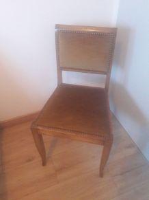Jolie chaise des annees 50-60