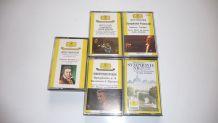 lot de 5 cassettes  Beethoven