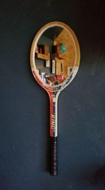 "Miroir, raquette miroir, raquette tennis - ""King"""