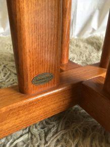 Table à manger Baumann bois massif – design 80