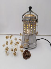 Lampe vintage/Lampe retro/Detournement d'objet