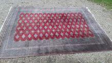 Grand tapis orient laine noué main