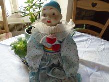 Pierrot en porcelaine