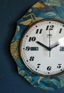 """Horloge vintage, pendule murale """"Odo"""""""