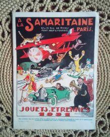 Catalogue À la Samaritaine Paris-Jouets Etrennes 1931