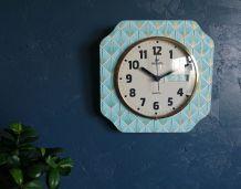 """Horloge vintage, pendule murale """"Vedette"""""""