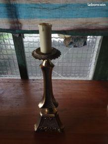 Pied de lampe laiton