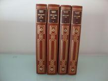 Lot de 4 beaux livres reliés Romans de Robert Merle