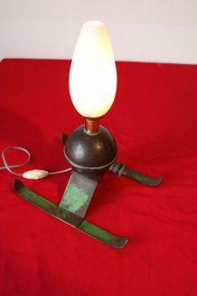 Lampe création arroseur de jardin années 50/60