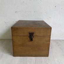 Caisse en bois vintage 50's