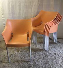 Chaise design Dr No par Stark pour Kartell – années 90
