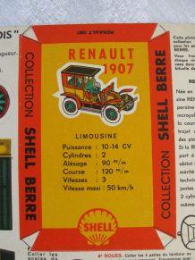 Maquette Shell Berre : maquette 9 renault limousine 1907