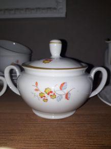 Service à petit déjeuner ancien, porcelaine MZ Tchecoslov.