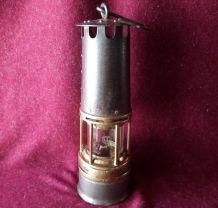 Lampe de mineur verre Baccarat