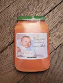 Recettes Maison Pour Bébé- Céline Scharot- Larousse