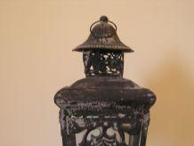 Lanterne en métal style vénitien