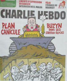 CHARLIE HEBDO N° 1405 de JUIN 2019 PLAN CANICULE BUZYN DANS
