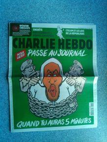 CHARLIE HEBDO No 1379 DÉCEMBRE 2018 PETER CHERIF PASSE AU JO