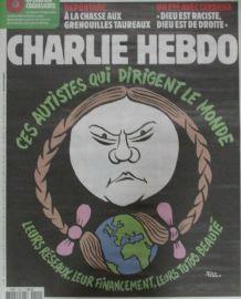 CHARLIE HEBDO N° 1409 de JUILLET 2019 GRETA THUNBERG AUTISTE