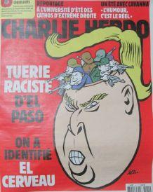 CHARLIE HEBDO N° 1411 de AOÛT 2019 TUERIE RACISTE de EL PASO