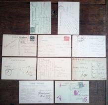 Paris - 10 cartes postales anciennes (lot3)