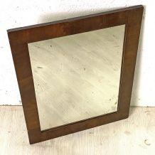 Miroir bois vintage 50's