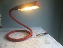 Lampe flexible rouge