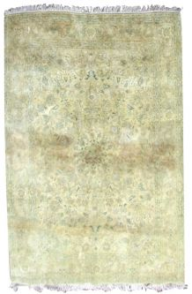 Tapis vintage Persan Mashad fait main, 1Q0334