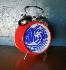 """Cadre déco, cadre réveil Océan """"Rouge Bleu"""""""