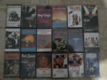 Cassettes audio ROCK POP