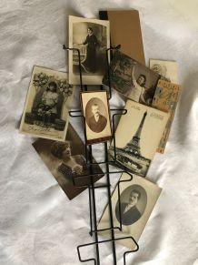 Présentoir cartes postales, photos