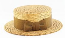 Ancien chapeau de paille