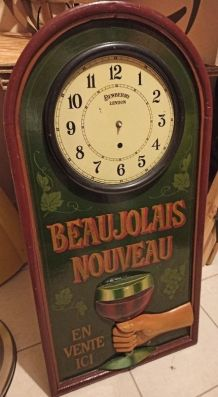 "Grand Tableau Vintage en 3D Country Corner ""Beaujolais"""