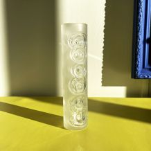 Vase en cristal vintage Peill & Putzler