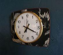 "Horloge vintage, pendule murale ""Jaz Jungle"""