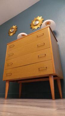 la superbe Commode vintage scandinave1960 mid-century