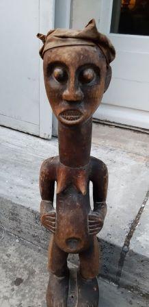 Lot de 3 statuettes africaines