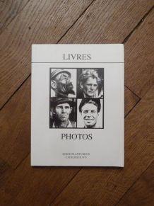 Catalogue de Livres de Photographies n°6- Serge Plantureux