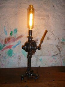 Lampe design industriel - POMPE JAPY