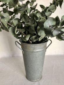 Pot de fleuriste - zinc
