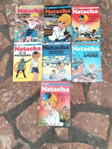LOT LIVRE BD NATACHA VINTAGE ANNÉE 70-80