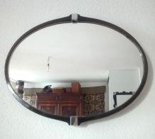Miroir mural pivotant - Années 70