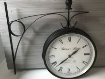 Horloge type bistrot