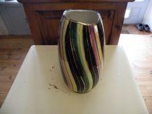 Vase multicolore raffiné élégant 1950