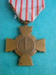 Ancienne médaille Croix du combattant 1914/1918