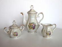 Service à café/thé 15 pièces porcelaine Italie