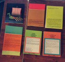 Lot x6 livres vintage d'activités Éditions Fleurus Idées