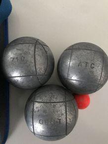 Boules de pétanque pro OBUT